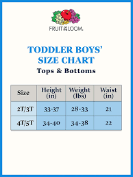 Fruit Of The Loom Toddler Boys Days Of The Week Brief Pack Of 7