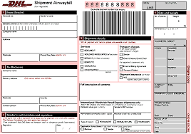 How To Fill In An Airwaybill