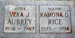 Vera J Aubrey (1908-1949) - Find A Grave Memorial
