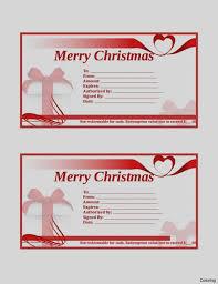 free printable christmas gift certificate templates 30 printable gift certificate template types christmas gift
