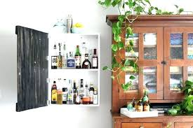 wall mounted bar cabinets wall bar cabinet stunning design wall mounted liquor cabinet build a vintage