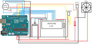 arduino powered smart fan controller  barnesian schematic for fan controller