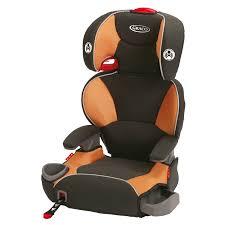 graco affix high back booster car seat orange tangerine1 0 ea