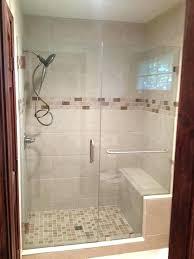 glamorous installing frameless shower door on fiberglass shower shower cost of glass door for shower in