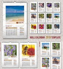 Wall Calendar Template 2018 A3 Free Download