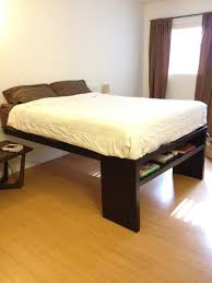 Surprising High Platform Bed Frame Decoration Ideas With Apartment ...