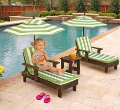 pool furniture kids lounge chair