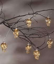 Mercury Glass String Lights Amazon Com Bethany Lowe Glass Skulls Led String Lights