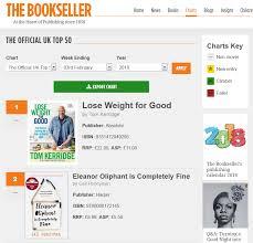 Bookseller Charts The Bookseller Charts The Bookseller