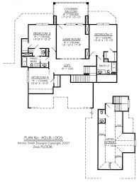 small loft house plans cottage floor plan natahala two y with attic room ideas