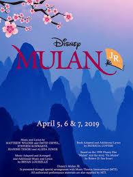 Disney's Mulan JR. at Los Berros Visual and Performing Arts Academy -  Performances April 5, 2019 to April 7, 2019 - Who's Who, page: 10
