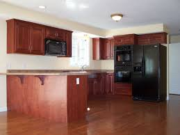 Wood Floors In Kitchens Affordable Amazing Charming Brown Wood Granite Stainless Cool