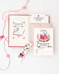 Book Themed Baby Shower Invitations Ideas With Good Wording Library Themed Baby Shower Invitations