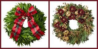 How To Hang Lighted Wreath On Door 20 Elegant Christmas Wreaths To Buy Online 2019 Best
