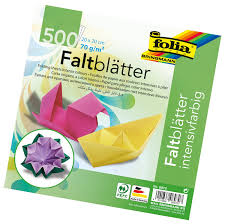 Amazon Com Folia Origami Paper 4 Inch By 4 Inch Assorted Colors