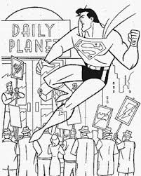 The first real superhero and a true marvel legend, known from the classic comic series. Valentine Styling Free Superman Coloring Pages For Children And Line Drawing Pictures