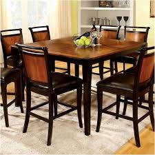 high dining room chairs tall dining room table and chairs beautiful high top kitchen table