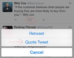 How to quote a quote How To Do A Quote Tweet On Twitter Twitter socialmediatips 91