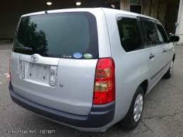 2010/May Used TOYOTA SUCCEED WAGON CBA-NCP58G Engine Type 1RZ Ref No ...