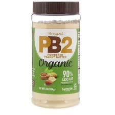 <b>PB2</b> Foods, The <b>Original PB2</b>, Organic <b>Peanut Butter</b> Powder, <b>6.5</b> oz ...