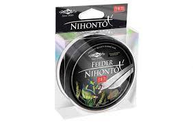 <b>Леска</b> монофильная <b>Mikado Nihonto</b> Feeder 150 м черная 0,22 мм ...