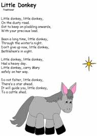 Let's get to bethlehem to visit the virgin and her child, too. 4. Little Donkey Christmas Poems Christmas Sunday School Preschool Christmas