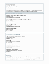 Examples Of Resumes For High School Students Beautiful Lovely