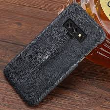stingray leather galaxy note 9 case gray