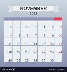 Monthly Calendar 2013 Calendar To Schedule Monthly November 2013