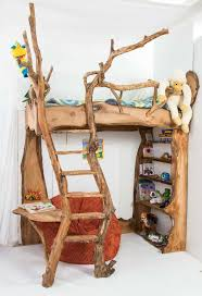 totally fantastic forest inspired bunk bed 10 best built in bunk beds wondrous cool wood