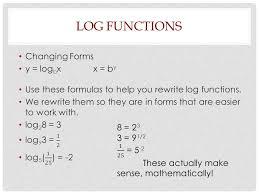 2 log functions