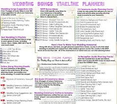how to make music program gorgeous wedding planning program wedding songs timeline music