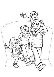 Small Picture Coloring Pages Of A Family Cecilymae