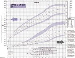 Hair Growth Length Chart British 1990 Growth Chart For Height And Weight In Boys 0 20