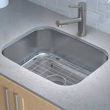 Kraus Stainless Steel 23 x 18 Undermount Kitchen Sink with Drain