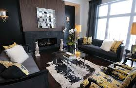 yellow and grey furniture. View In Gallery Yellow And Grey Furniture W