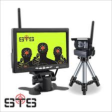 wireless target monitoring system up to