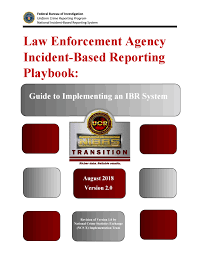 Nibrs Law Enforcement Agency Incident Based Reporting