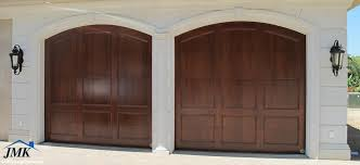 wood sectional garage doors