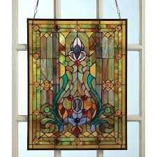 stained glass hanging style window panel hangings uk stained glass hanging