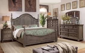 rustic gray bedroom set. Fine Set In Rustic Gray Bedroom Set
