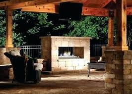 double sided outdoor fireplace two sided outdoor fireplace outdoor stone fireplace with double sided design all
