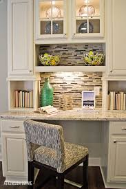 office nook ideas. Kitchen: Astonishing Kitchen Best 25 Desks Ideas On Pinterest Office Nook Of Built In Desk L