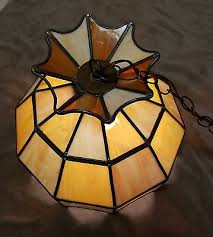 true slag glass leaded stained glass chandelier hanging light fixture 15 lamp