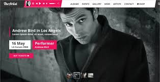 Artist Website Templates Interesting 48 Best Artist Website Themes Templates Design Trends Premium