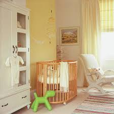 Soothing paint colors nursery room wall design