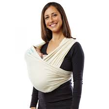 Baby Ktan Organic Cotton Baby Carrier Natural