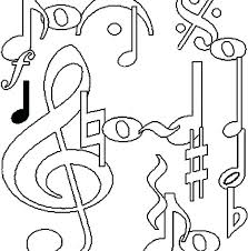Music Coloring Pages Great Free Printable Music Notes Coloring Pages