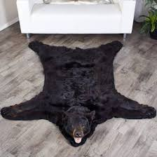 black bear rugs black bear skin rugs bear skin rug at bear skin