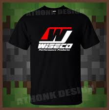 Wiseco High Performance Piston T Shirt Wiseco Powersports Forged Pistons Funny Tees Shirts Mens T Shirt Printed Men T Shirt Classic